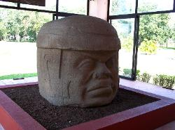 The Colossal Head at Tres Zapotes